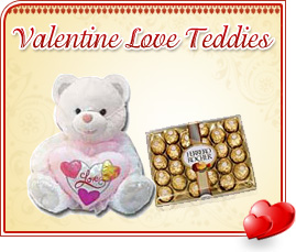 Valentine Love Teddies